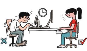 Úprava pracovního prostředí