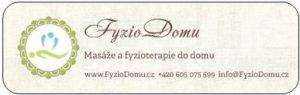 Lepící nálepka s logem FyzioDomu